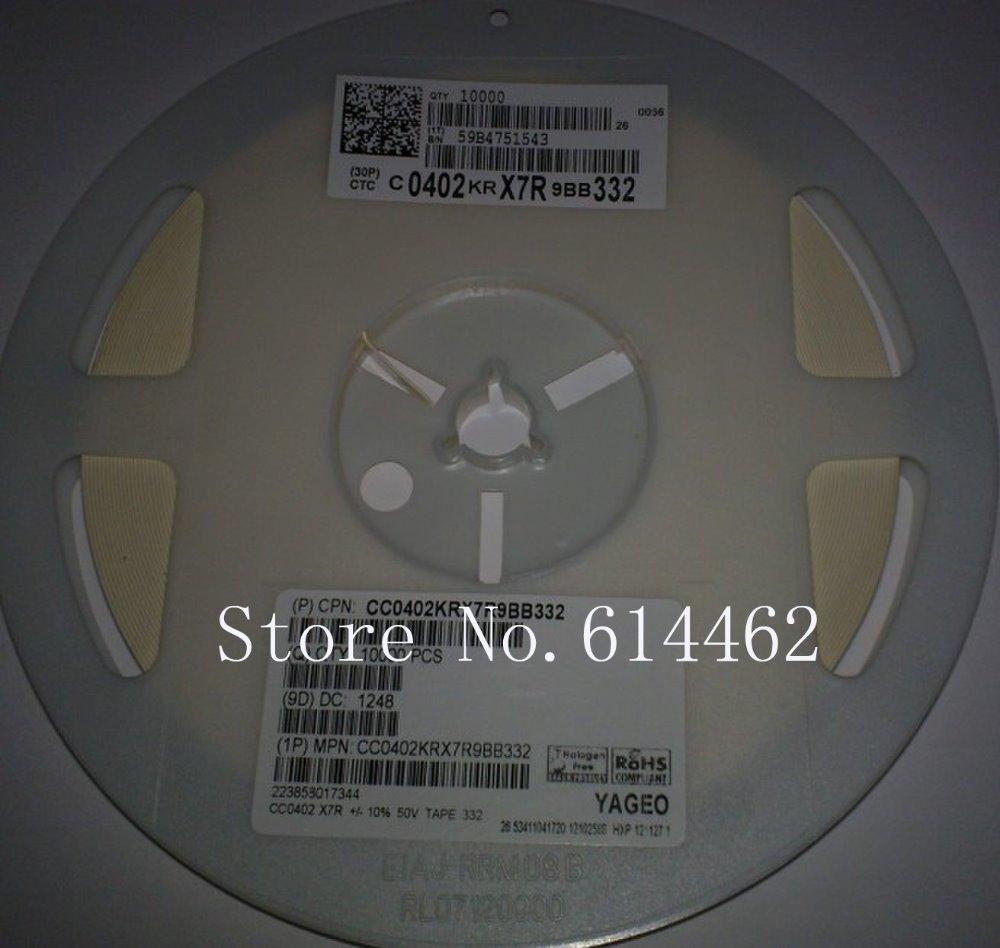 Free Shipping 10000 PCS NEW SMD Ceramic Capacitor 0402 (1005 Metric) 3300PF 50V NP0 0402 3300PF 3.3NF 3300P(China (Mainland))