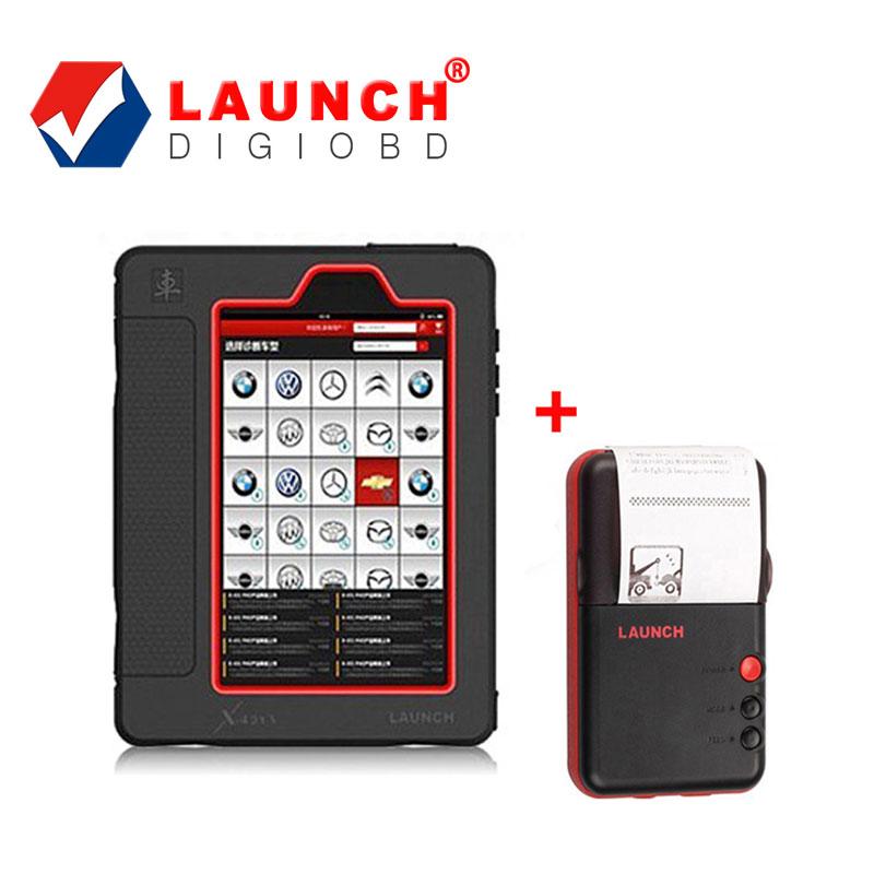 [Launch Dealer] Original Launch X-431 Diagnostic Tool Scanner Global Version Launch X431 V Plus Update Online + Wifi Printer(China (Mainland))