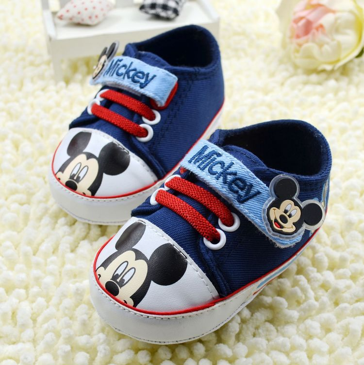 Dropshipping baby minnie shoes kids boys sneakers mikey mouse shoes cartoons shoes children shoes(China (Mainland))