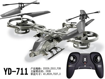 Free shipping AVATAR 4ch 2.4G rc helicopter YD711 remote control toy(no original package) P2
