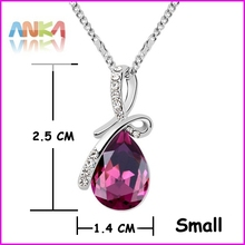 2015 Sale Trendy Beautiful Necklace Top Quality Austria Crystal Jewelry Free Shipping Made With Swarovski Elements