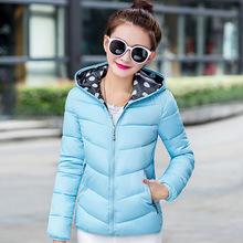 Plus la Taille 2016 Mode L'ukraine Hiver Femmes Manteau Canada Parka À Capuche Dame Vers Le Bas Matelassé Veste Manteau Femme Sexy Casual Pardessus(China (Mainland))