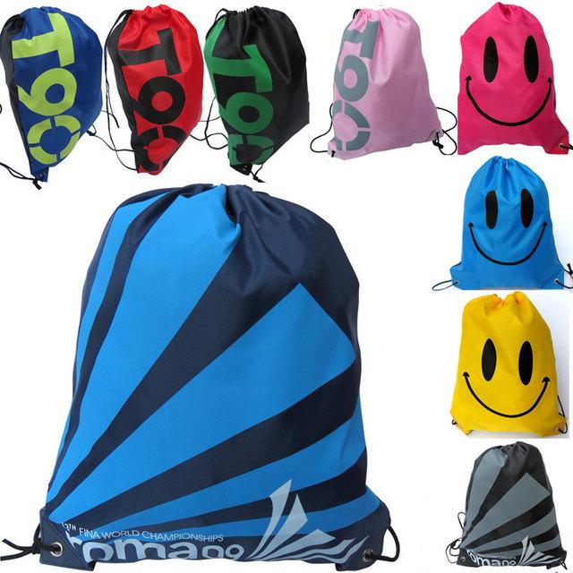 Высокое качество спорт на открытом воздухе бич тренажерный зал одежда обувь сумка для хранения T90 лица шнурок рюкзак Mochila школьные сумки