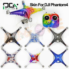 2016 NEW PGY DJI Phantom 4 accessories skin Stickers decals 3M PVC phantom4 Waterproof Quadcopter Drone parts multiple style