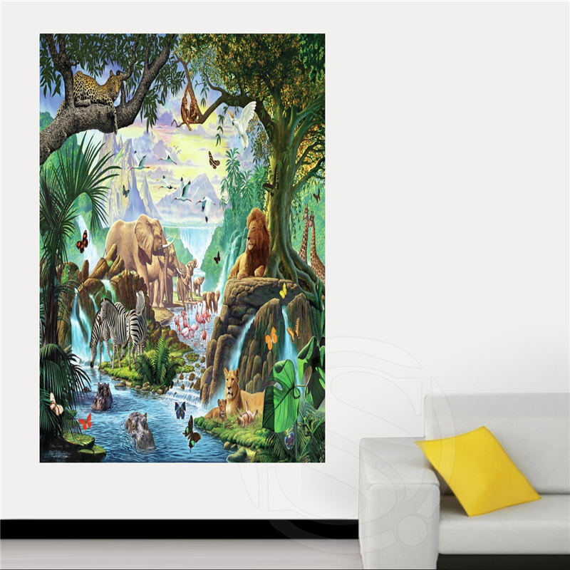 African art Canvas Silk Poster for Home Decor Custom Print painting Art Picture SQ0516-ZHH