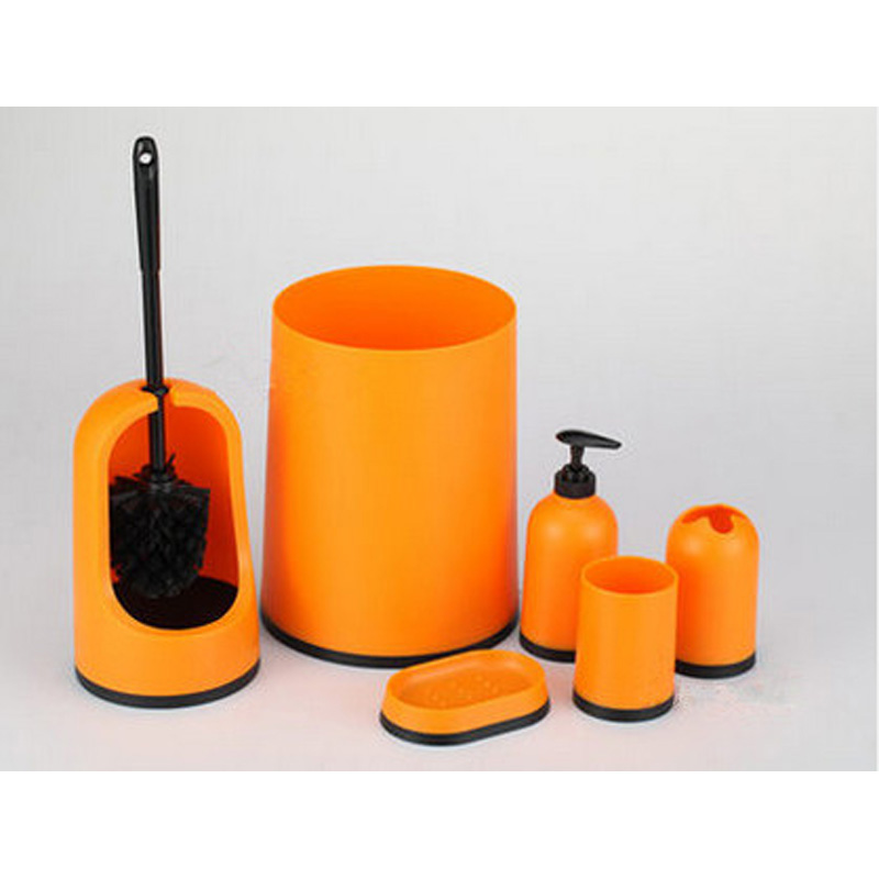 Popular Orange Bathroom Accessories Buy Cheap Orange Bathroom Accessories Lots From China Orange