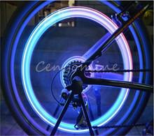 Skull Flashing LED Valve Cap Light Wheel Tyre Lamp For Car Motorcycle Bike