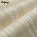 beibehang Metallic modern roll wallcovering glitter non woven stripe wall paper roll background mural wallpaper for