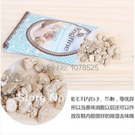 Wholesale sachet bags fragrance deodorizing purify odor air room, luggage, wardrobes, shoe racks, kitchen, cars, toilets 5g(China (Mainland))