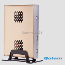 Sale special offer mini pc Qotom-T30-1 windows 2G ddr3 ram and ssd 64gb desktop computers 6 USB 2.0 C1037U cpu pc games(China (Mainland))
