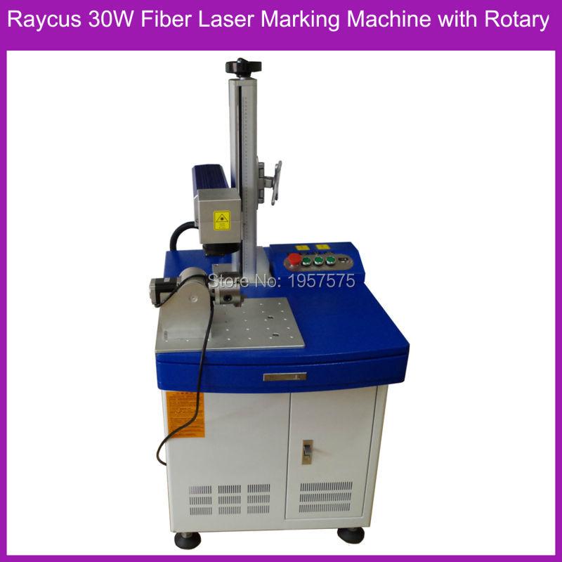 raycus 30W-3 with rotary