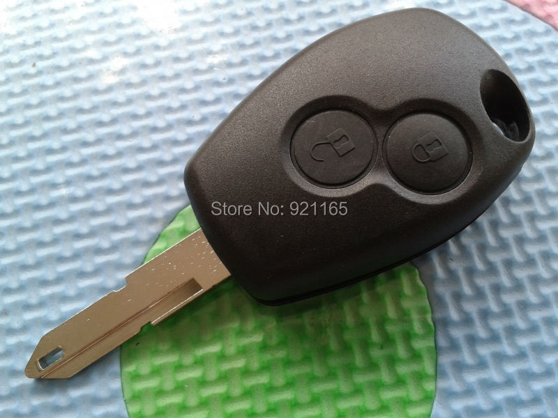 For FITS Renault Clio Modus Master Twingo 2 Button remote key FOB shell Blank Blade(China (Mainland))