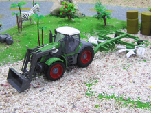 1:28 scale 6CH remote control RC truck,radio control US farm tractor dump trucks(China (Mainland))