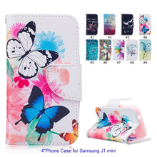 Buy Colorful Luxury Leather Phone Case Samsung J1 Mini Stand Wallet Flip Case Samsung Galaxy j1 mini J105 J105H J105F Coque for $3.50 in AliExpress store