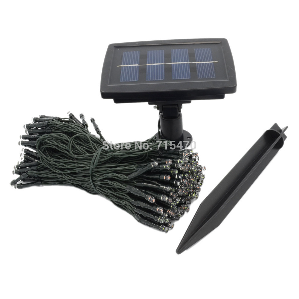 2015 Top Fashion Solar Panel Garden Decoration 65ft 200 Led Solar Power Fairy