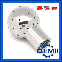 """0.75""""Female thread Fixed cleaning ball Stainless steel for tank vessel SS304 SS316L(China (Mainland))"""