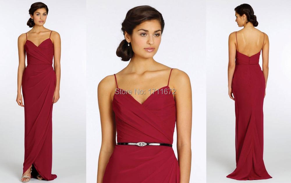Tulip style bridesmaid dress