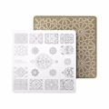 CICI&SISI Stamp Stamping Image Konad Plate Print Nail Art Template DIY for Nail Stamping Plates Geometry Patterns Series