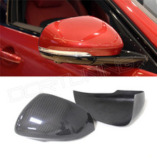 Add Style Carbon Fiber Rear View Side Mirror Cover Sets JAGUAR XF 2011 2012 2013 2014 - DCR TUNING store