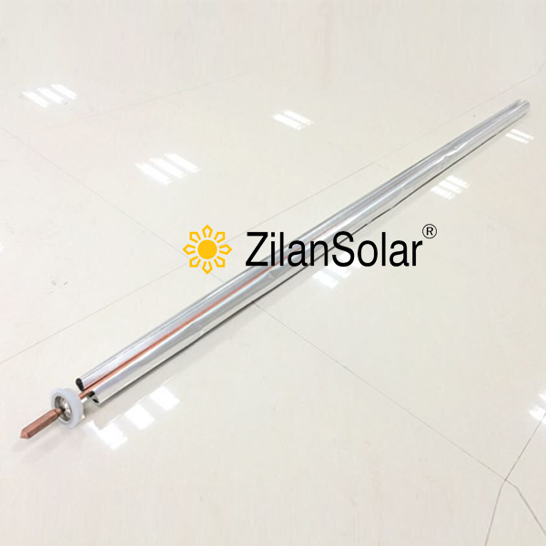 14mm heat pipe with Aluminum fin for D58-L1800MM vacuum tube fit for solar collector(China (Mainland))