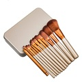 12pcs Set Professional Makeup Brushes Tools Set NK3 Make Up Brush Tools Kits For Eye Shadow