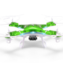 JJRC H5P RC Quadcopter 4 CH 6 Axis Gyro 2.4GHz Four rotor Drone with 2.0MP HD Cam CF Mode 3D Eversion LED Light Free shipping