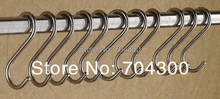 Stainless High Quality Hooks Kitchen Pot Pan Hanging Hanger Rack Home Clothes Holder(China (Mainland))