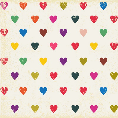 D-6358 Cute color hearts newborn photography backdrop pet Studio photography background girl boy photo backdrops(China (Mainland))