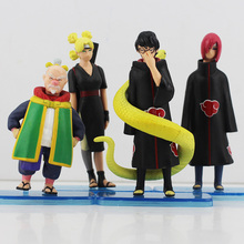 Buy 4pcs/set Hot Cute Japanese 12cm Uzumaki Naruto Battle Of Top Doll PVC Action Figure Free Shipping for $10.34 in AliExpress store