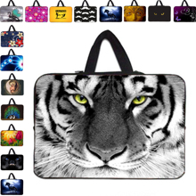 Hot Sale New 17 17.3 17.4 inch Computer Accessories Notebook Neoprene Bags For Macbook Pro 17 inch+ Free Shipping Hidden Handle