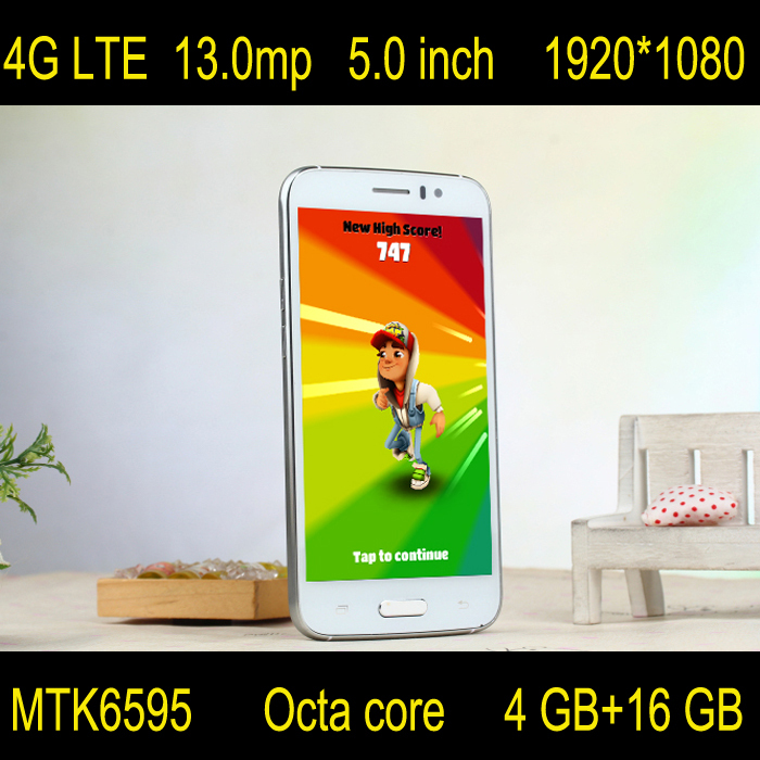 "Original Smartphone 4G LTE z8 MTK6595 Octa Core 5.0""1080P 4GB RAM 16GB ROM 13.0MP android cell Mobile Phone like S6 lenovo style(China (Mainland))"