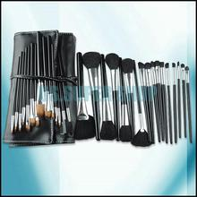 32pcs Professional Makeup Cosmetic Facial Brushes Eyeshadow Powder Brusher Set Kit With Roll Up Bag EQ7510