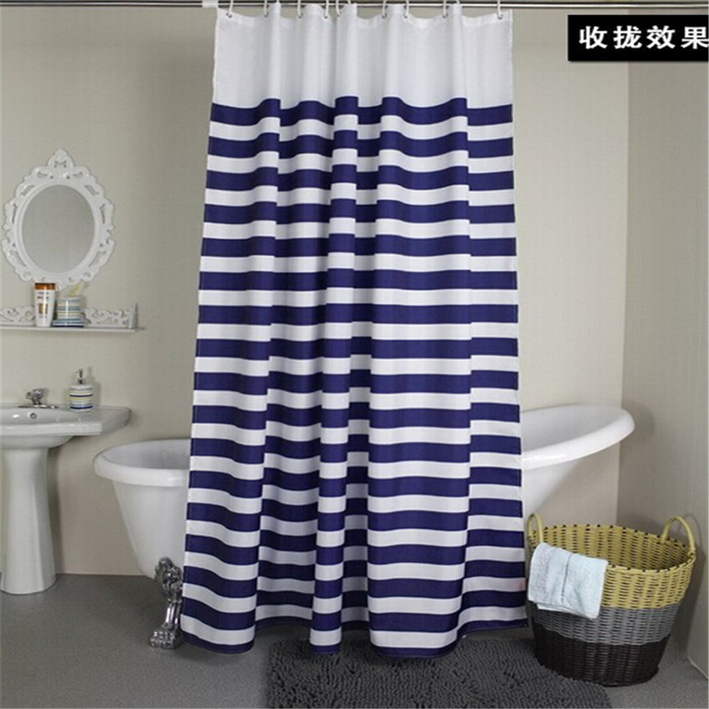 Hot sale navy european classic blue and white waterproof for Bath room sale