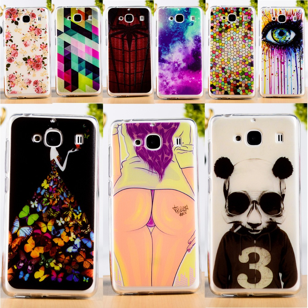 DIY Painted Soft TPU & Hard Plastic Cover For xiaomi redmi2 hongmi2 redmi 2 hongmi 2 Anti-Knock Function Cell Phone Case(China (Mainland))