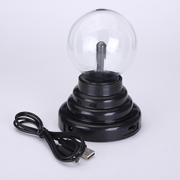 USB Magical Crystal Plasma Ball Electrostatic Sphere Lighting Lamp Party Falshing Light Kid Xmas Brithday Gift 220V(China (Mainland))