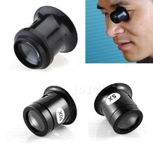 A11 1Pc 5x Watch Jewellery Magnifier Loupe Eye Len Eyepiece Repair Kit Tool IB077