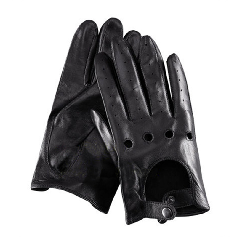 2016 Mens Driving Gloves for Jason Statham 100% Genuine Leather Car Driving Gloves Fashion Mens leather Driving Gloves(China (Mainland))