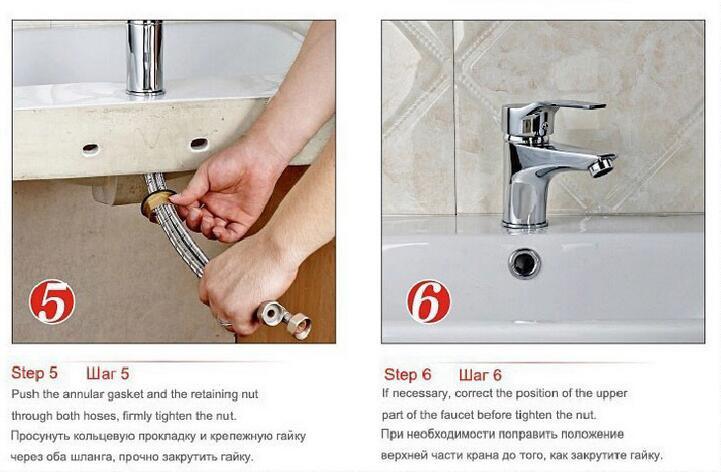 Купить Ванная комната бассейна смесители ингл отверстие бассейна горячей и холодной кран кухня кран умывальник кран Медный Сосуд Раковина Водопроводной Воды Y2S2