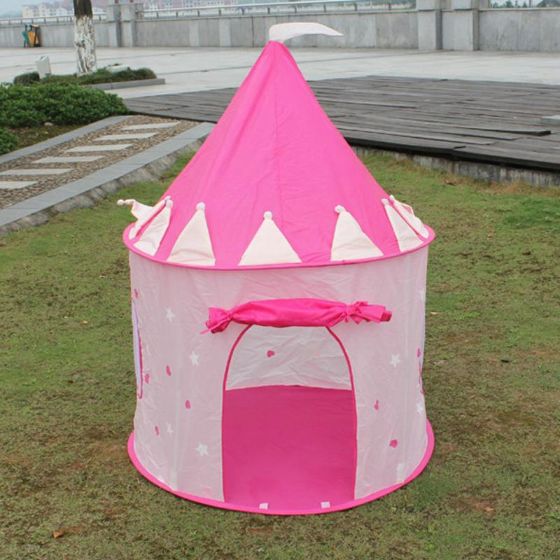 getSubject() aeProduct. & New Portable Princess Castle Tent Pink Children Tent Pop Up ...