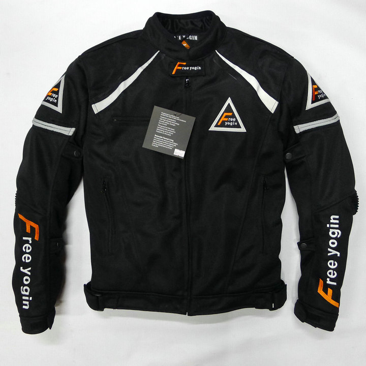 Фотография Free shipping summer mesh motorcycle jacket men