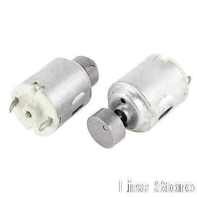 2 pieces electric toys replacement mini vibration motor dc for Small electric vibrating motors