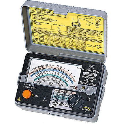 kyoritsu insulation tester 3132a manual