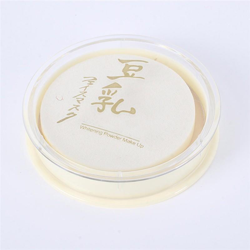 Moda Cor Natural Pressionado Seco Suave Controle de Óleo Corretivo Pó Facial Solto Cuidado Maquiagem Rosto