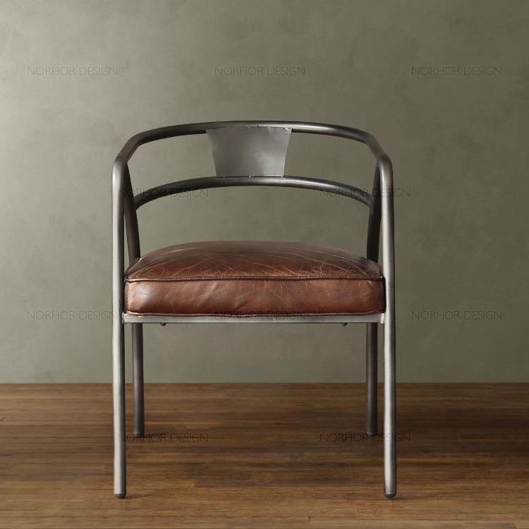 American Village restaurant bar chairs chair retro leather lounge chair coffee chair computer chair armchair chair work<br>