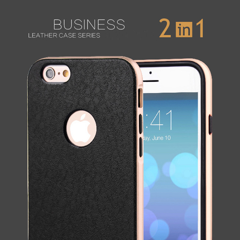 Bumblebee NEO Hybrid Cover Case For Apple iPhone 6 6s plus 4.7 5.5 5 5s SE Mobile Phone Cover Back 2 in 1 PU Leather +PC Slim(China (Mainland))