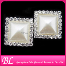 HOT! 5 shapes! 200pcs/lot small rhinestone pearl brooches in bulk for weddings