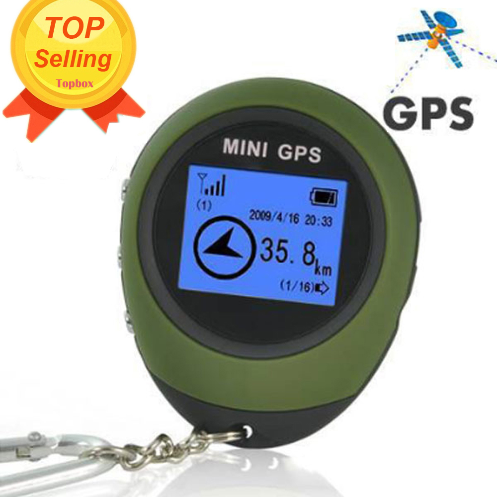 Mini GPS Tracker Tracking Device Travel Protable Keychain Locator Pathfinding Outdoor Sport Handheld Keychain(China (Mainland))
