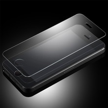 TOP Thin 0.19mm Tempered Glass Screen Protector For iPhone 5 5S 5C 5G SE Gen Nanometer H Anti-Explosion Film Case Cover Skin(China (Mainland))