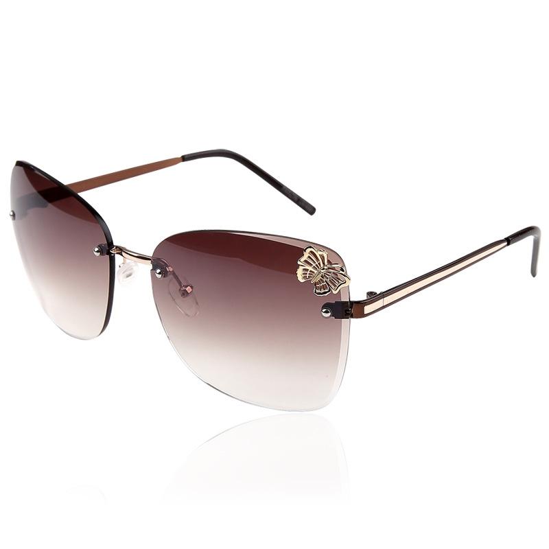 2015 Trendy Fashion Sunglasses Luxury Ladies Butterfly Designer Exclusive Brand Embellishment Sunglasses Women Glasses Female(China (Mainland))