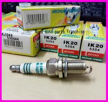 4pcs/lot DENSO original made in Japan Iridium spark plug IK20-5304 for Volkswagen Audi Toyota Mitsubishi Subaru BMW IK20 5304(China (Mainland))